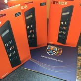 Donation of Kindle Fires from Midland Communications