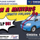 Win a Minibus Competition - can you help us?
